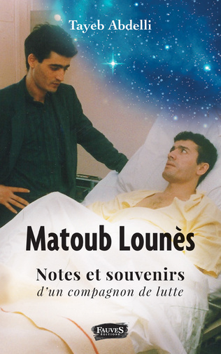 Couverture Matoub Lounès, notes et souvenirs d'un compagnon de lutte