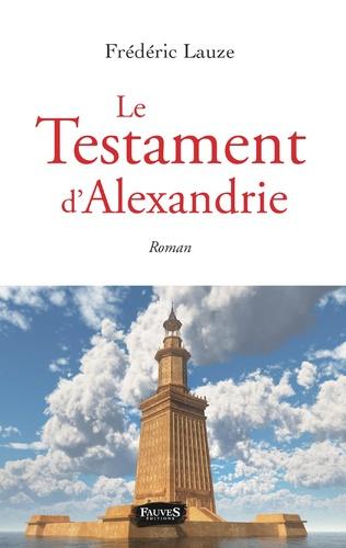 Couverture Le Testament d'Alexandrie
