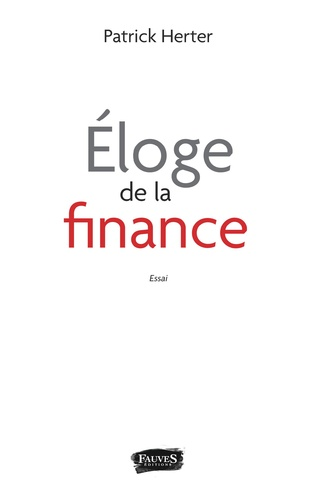 Couverture Éloge de la finance