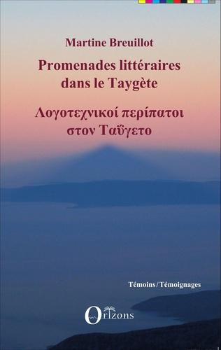 Couverture Promenades littéraires dans le Taygète
