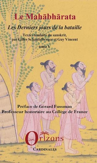 Couverture Le Mahabharata - Tome V
