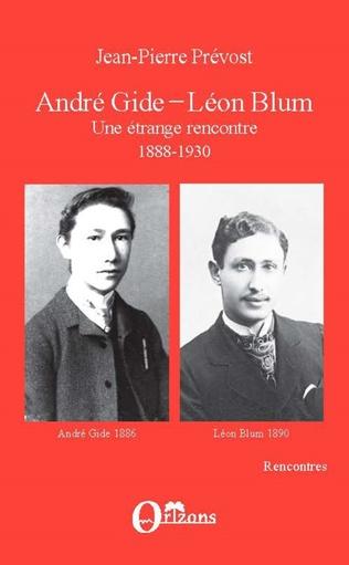 Couverture André Gide-Léon Blum