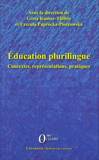 Couverture Education plurilingue