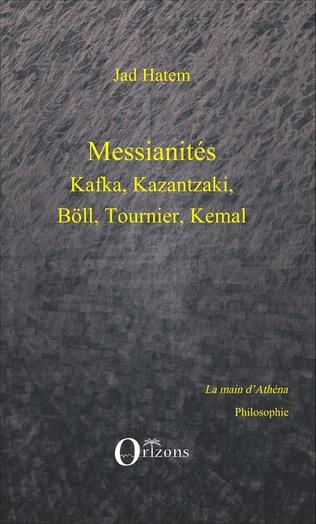 Couverture Messianités