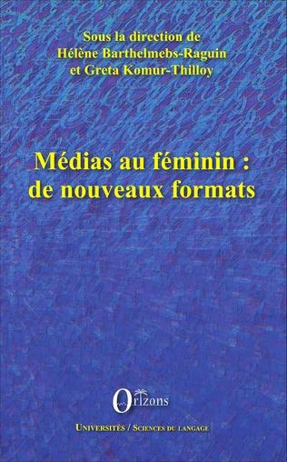 Couverture Médias au féminin : de nouveaux formats