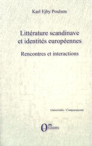 Couverture Littérature scandinave et identités européennes