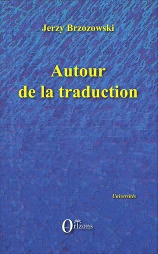 Couverture Autour de la traduction