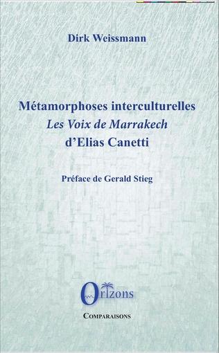 Couverture Métamorphoses interculturelles