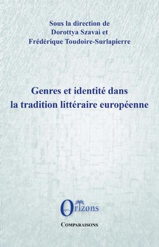 Couverture Genres et identité dans la tradition littéraire européenne