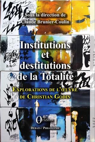 Couverture Institutions et destitutions de la totalité