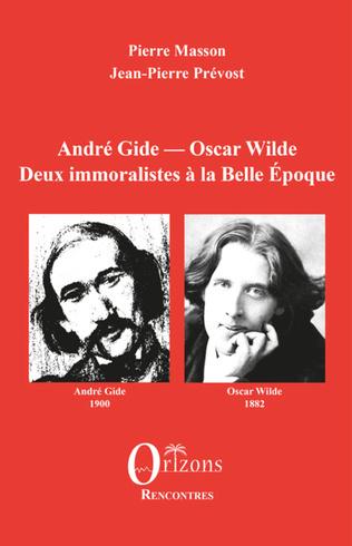 Couverture André Gide - Oscar Wilde