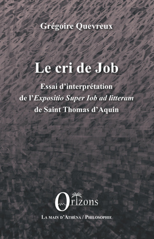 Couverture Le cri de Job
