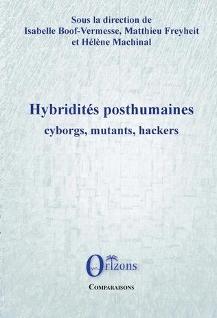 Couverture Hybridités posthumaines
