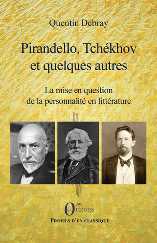 Couverture Pirandello, Tchékhov et quelques autres