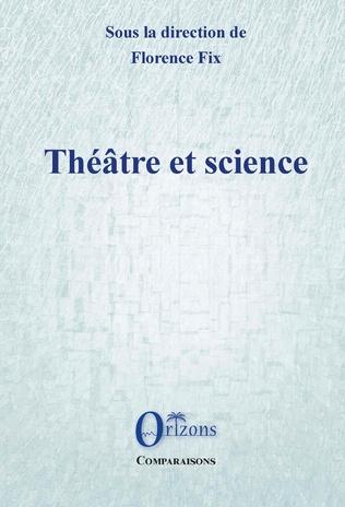 Couverture Théâtre et science