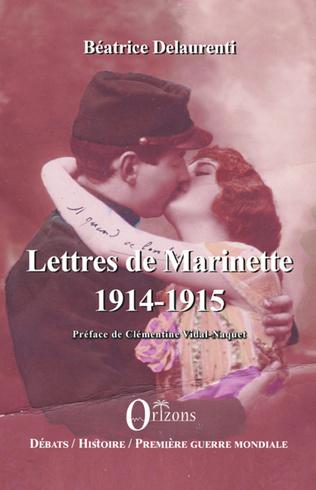 Couverture Lettres de Marinette 1914 1915