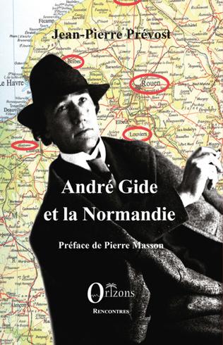 Couverture André Gide et la Normandie