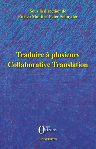 Couverture Traduire à plusieurs