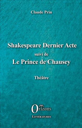 Couverture Shakespeare Dernier acte