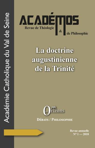 Couverture La doctrine augustinienne de la Trinité