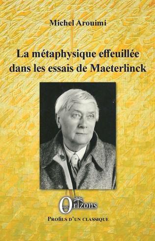 Couverture La métaphysique effeuillée dans les essais de Maeterlinck