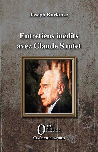 Couverture Entretiens inédits avec Claude Sautet