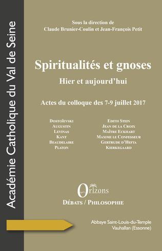 Couverture Spiritualités et gnoses