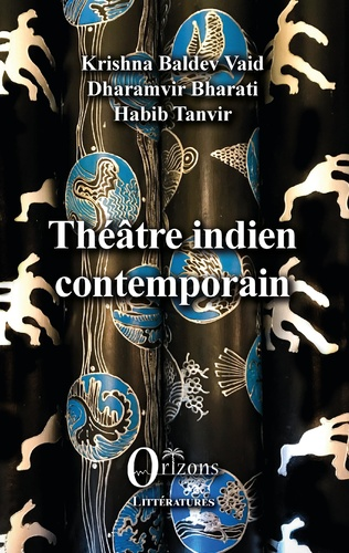 Couverture Théâtre indien contemporain