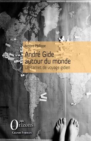 Couverture André Gide autour du monde