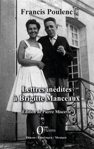 Couverture Lettres inédites à Brigitte Manceaux