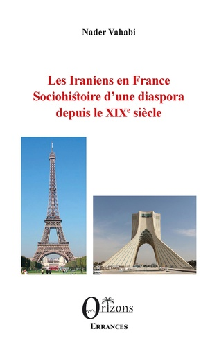Couverture Les Iraniens en France