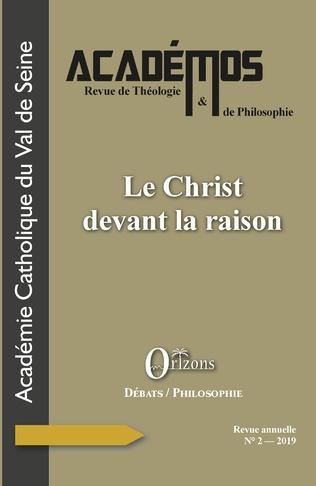 Couverture Le Christ devant la raison