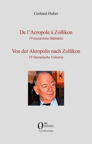 Couverture DE L'ACROPOLE A ZOLLIKON