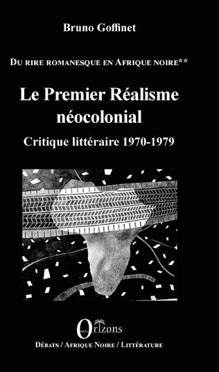 Couverture Le Premier Réalisme néocolonial