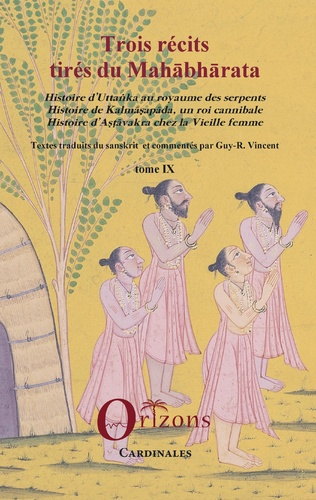 Couverture Trois récits tirés du Mahabharata