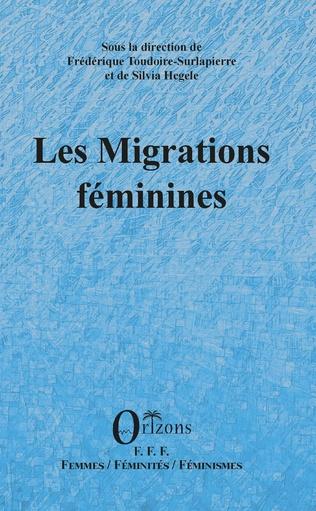 Couverture Les migrations féminines