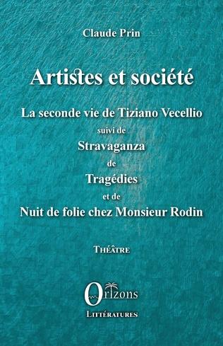 Couverture Artistes et société