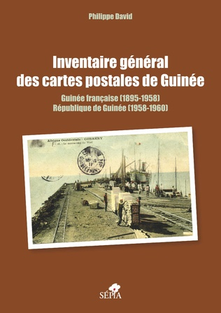 Couverture Inventaire général des cartes postales de Guinée