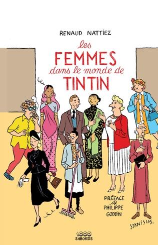 Couverture Les femmes dans le monde de Tintin