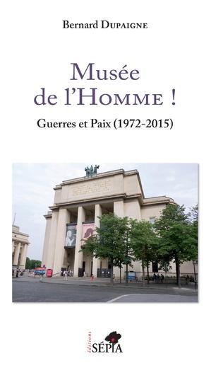 Couverture Musée de l'Homme !