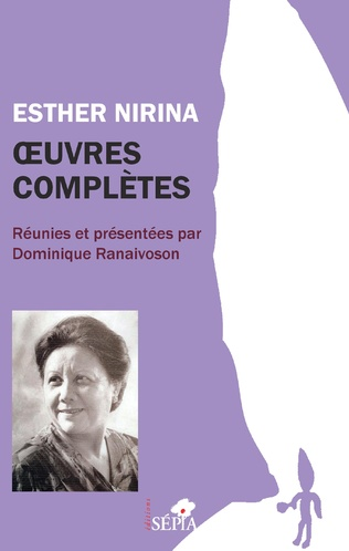 Couverture Esther Nirina oeuvres complètes