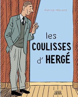 Couverture Les coulisses d'Hergé