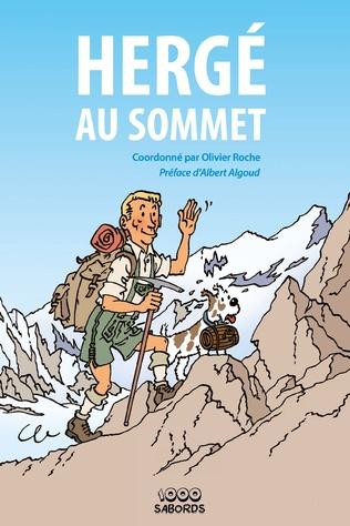 Couverture Hergé au sommet