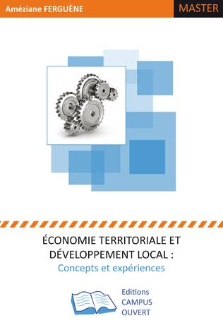 Couverture Economie territoriale et développement local :