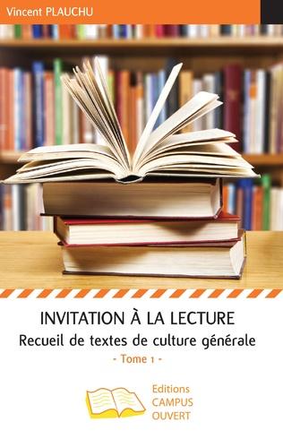 Couverture Invitation à la lecture (Tome 1)
