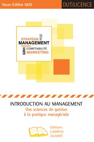 Couverture Introduction au management