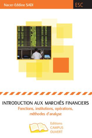 Couverture Introduction aux marchés financiers