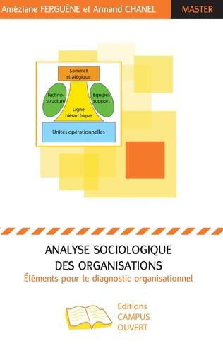 Couverture Analyse sociologique des organisations