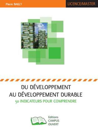Couverture Du développement au développement durable