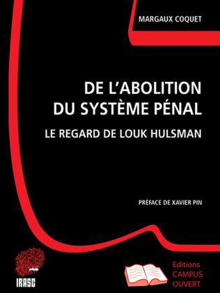 Couverture De l'abolition du Système Pénal